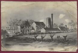 290120 - PHOTO GUERRE 1914 18 - BELGIQUE BOESINGHE BOEZINGE Ruines Moulin - België