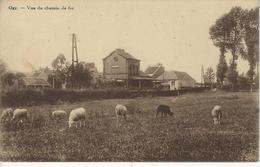 OGY - Lessines - Vue Du Chemin De Fer - La Gare (Edit Vve Bruyère) - Lessines