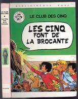 """Bibliothèque Rose  - Une Aventure Du Club Des Cinq - Claude Voilier - """"Les Cinq Font De La Brocante"""" - 1980 - Livres, BD, Revues"""