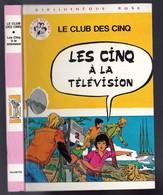 """Bibliothèque Rose  - Une Aventure Du Club Des Cinq - Claude Voilier - """"Les Cinq à La Télévision"""" - 1980 - Livres, BD, Revues"""