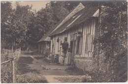 Carte Photo La Houssaye 27 Maison Normande Dans Les Bois Le Fidelaire - France