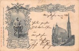 FRANZ JOSEF 1st~KAISER Von OESTERRICH-KONIG Von UNGARN~50th JUBILAUM~1898 C PIETZNER PHOTO POSTCARD 43365 - Königshäuser