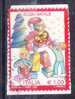 2017  NATALE LAICO  USATO - 6. 1946-.. Republic