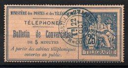 TELEPHONES -  YT N° 3 - Cote: 13,00 € - Télégraphes Et Téléphones