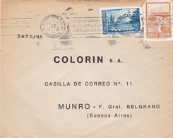 """""""COLORIN SA"""" ARGENTINA COMMERCIAL COVER, CIRCULATED 1972, TO MUNRO, BUENOS AIRES. BANDELETA PARLANTE -LILHU - Storia Postale"""