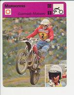 Guennady Moisseev Motocross Fiche Motocyclisme Sport FICH-Moto-3 - Sports