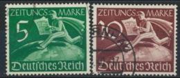 Deutsches Reich Z738/39 O - Usados