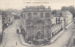 62  Pas  De  Calais  -  Arras  -  La  Fontaine  De  Neptune - Arras