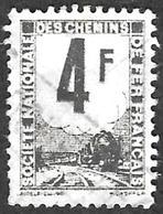 PETITS COLIS  1944-47 - YT  3A - 4f Gris - Oblitéré - Spoorwegzegels