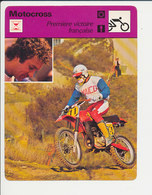 Daniel Péan Motocross Fiche Motocyclisme Sport FICH-Moto-3 - Sports