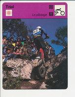 Trial  Fiche Motocyclisme Sport FICH-Moto-3 - Sports