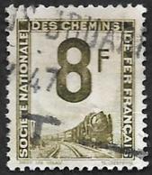 PETITS COLIS  1944 - YT 8 - 8f Vert - Oblitéré - Colis Postaux