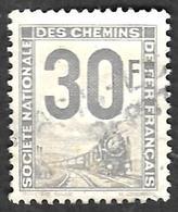 PETITS COLIS  1944-47 - YT 13 - 30f Gris - Oblitéré - Colis Postaux