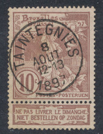 "Expositions - N°73 Obl Simple Cercle ""Taintegnies"". Superbe - 1894-1896 Ausstellungen"