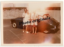 Photo Originale - Autos Voitures Automobiles Cars - Citroën DS - Femmes Et Homme - Automobile