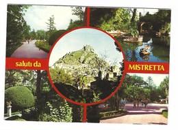 2890 - SALUTI DA MISTRETTA MESSINA 4 VEDUTE 1984 - Italia