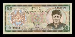 Bhutan 20 Ngultrum 2000 Pick 23 SC UNC - Bhoutan