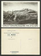 Exposition Propagande Philatélique LA MURE Mai - Juin 1936 / Carte Neuve Illustration DRAIM......tirage 100 - Frankreich