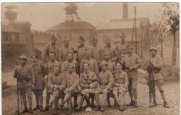 42 LA RICAMARIE CARTE PHOTO **Mines De La Béraudière, 16 Régiment D'Infanterie** - Non Classés