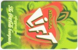 BULGARIA A-514 Chip Mobika - Advertising, Drink, Coca Cola - Used - Bulgarien