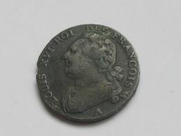 Très Beau 12 Deniers 1793 A   - Louis XVI Roi Des Francois **** EN ACHAT IMMEDIAT **** - 1789-1795 Period: Revolution