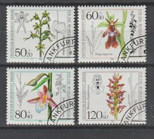 "Berlin / 1984 / Mi. 724-727 ""Orchideen"" O (5610) - Usados"
