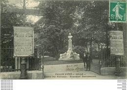 WW 59 LILLE. Monument Desrousseaux Rue Nationale 1911 - Lille