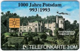 GERMANY O-Serie B-401 - 331 03.95 - Painting, Historic Scene, Anniversary, Potsdam - MINT - Alemania