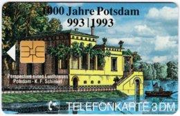 GERMANY O-Serie B-402 - 428 03.95 - Painting, Historic Scene, Anniversary, Potsdam - MINT - Alemania
