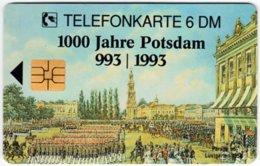 GERMANY O-Serie B-406 - 1566 08.94 - Painting, Historic Scene, Anniversary, Potsdam - MINT - Alemania