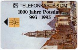 GERMANY O-Serie B-408 - 2226 10.94 - Painting, Historic Scene, Anniversary, Potsdam - MINT - Alemania