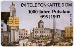 GERMANY O-Serie B-410 - 051A 07.93 - Painting, Historic Scene, Anniversary, Potsdam - MINT - Alemania