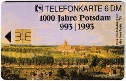 GERMANY O-Serie B-415 - 357C 10.93 - Painting, Historic Scene, Anniversary, Potsdam - MINT - Alemania