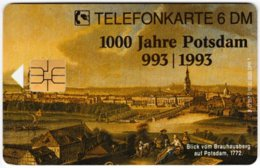 GERMANY O-Serie B-416 - 357D 10.93 - Painting, Historic Scene, Anniversary, Potsdam - MINT - Alemania