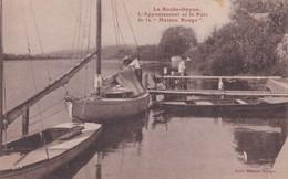 LA ROCHE GUYON  D95   L APPONTEMENT ET LE PORT DE LA MAISON ROUGE - La Roche Guyon