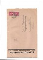 Brief Aus Weddersleben Nach Crimmitschau 1936 - Allemagne