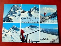 (FG.V56) GRAN SASSO D'ITALIA - PRATI DI TIVO - VEDUTE VEDUTINE (TERAMO) Viaggiata 1970 - Teramo