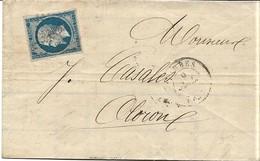 France Facture Lacay Losange PC 3320 Tarbes 09/07/62 / YT 14B Pour Oloron Sainte Marie - Poststempel (Briefe)