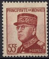 MONACO  N* 159 TB Charniere - Monaco