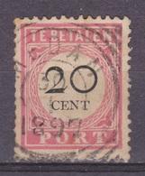 Nederlands Indie Netherlands Indies Port 18 TOP CANCEL MEDAN ; Portzegel, Due Stamp. Timbre Tax, Dienstmarke 1892 - Niederländisch-Indien