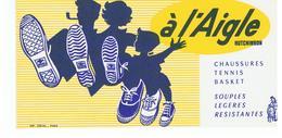 Buvard à L'Aigle HUTCHINSON Chaussures Tennis Basket Souples Légères Résistantes - Sports