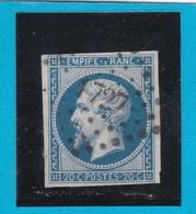N° 14 B   PC 1727   LILLE  ( 57 )  NORD  - REF 14112 + Variété - 1853-1860 Napoleon III