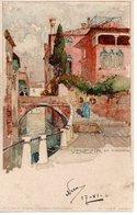 VENEZIA - Rio S. Christoforo, Manuel Wielandt, Ed. Schmidt & Staub Norimberga, 17.6.1904 - Venezia (Venice)