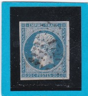 N° 14 A   PC 1727   LILLE  ( 57 )  NORD  - REF 14112 + Variété - 1853-1860 Napoleon III