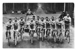 CARTE CYCLISME GROUPE TEAM TELEVIZIER 1964 - Radsport