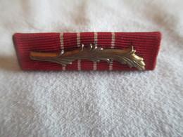 Barrette De Décoration/: Origine à Identifier/Vers 1930 - 1960  ?                        BAR117 - Insignes & Rubans