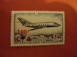 """CFA - Réunion , P.A.   Neuf N° 61  Charnière       """"  Mystere 20   """"       Net            0.80 - Réunion (1852-1975)"""