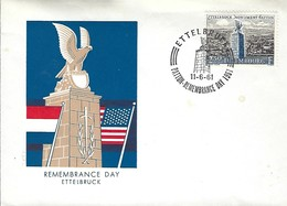 Luxembourg  -  FDC  -   11.6.1961  -  Remembrance Day Ettelbruck - FDC