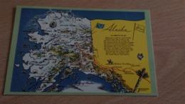 CSM -  CARTE D ALASKA - Estados Unidos