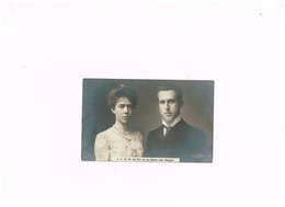 Famille Royale Belge.L.L.M.M. Le Roi Et La Reine Des Belges. - Familles Royales